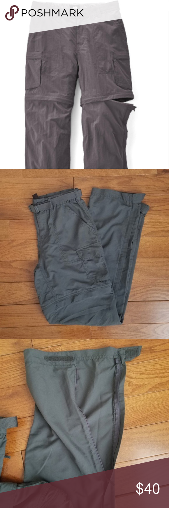 2dde94b8ab REI Co-op Sahara Grey Convertible Pants - Size 4 Converts from pants to  shorts