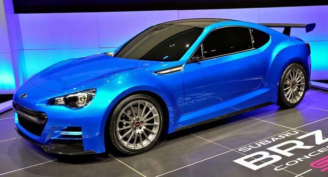The Subaru Brz Sti Is Coming