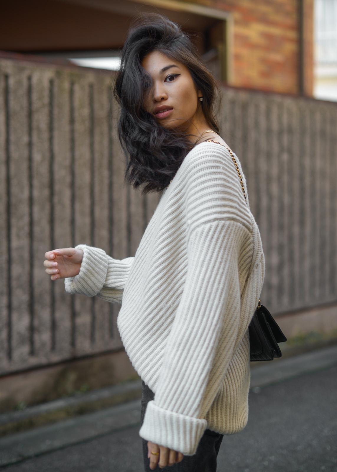... snakeskin booties with oversized sweater 1679f0aa5ae85