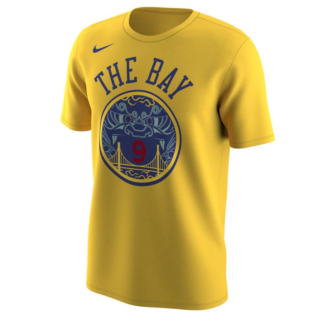 wholesale dealer bf8fa a9351 Golden State Warriors City Edition (Andre Iguodala) Nike Dri ...