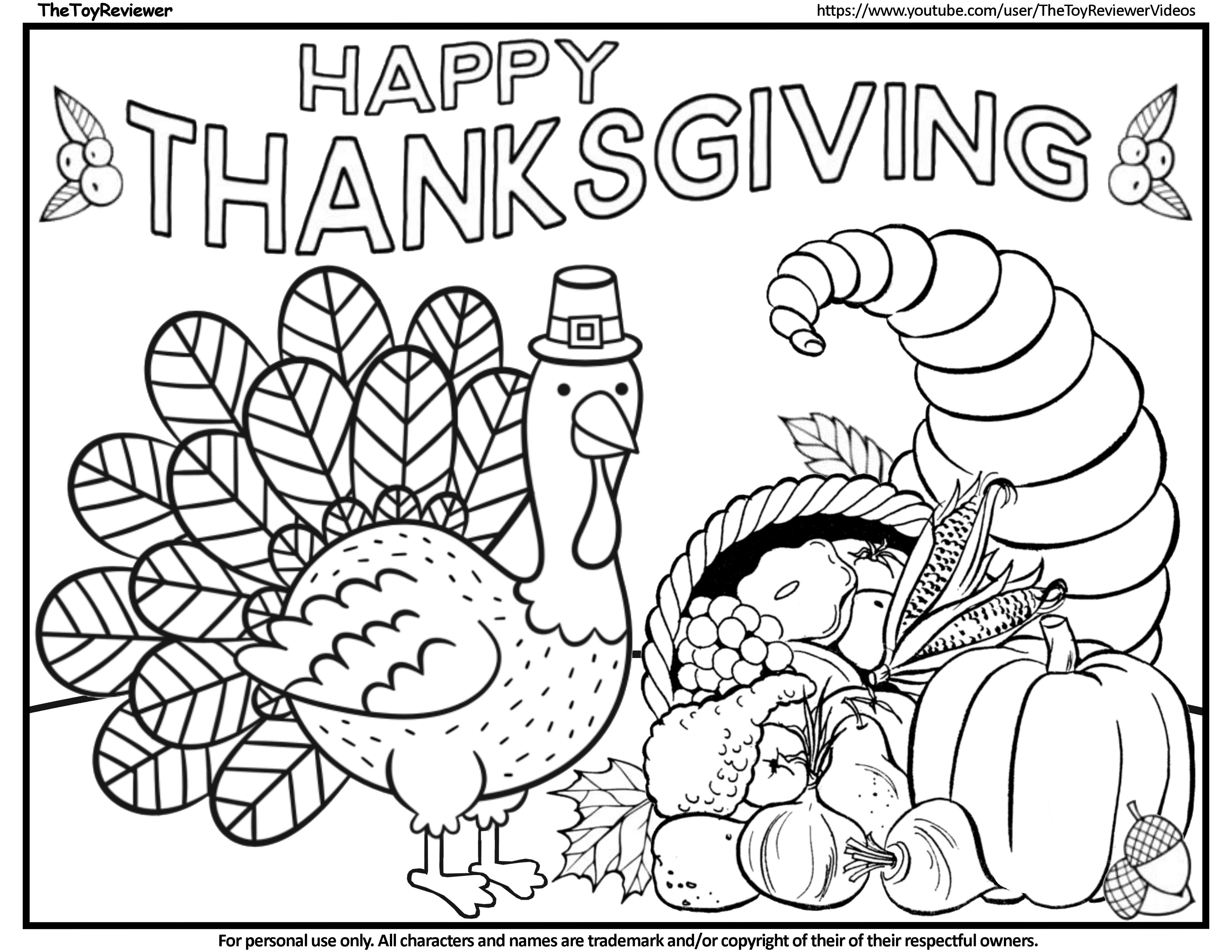 Here Is The Thanksgiving Turkey Coloring Page Click The