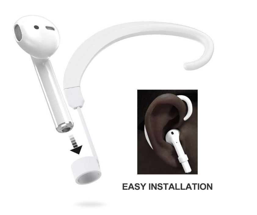 For Airpods Strap Umtele Paired Wireless Airpods Hook Accessories Holders One For Left And One For Iphone Earbuds Apple Headphone Apple Logo Wallpaper Iphone