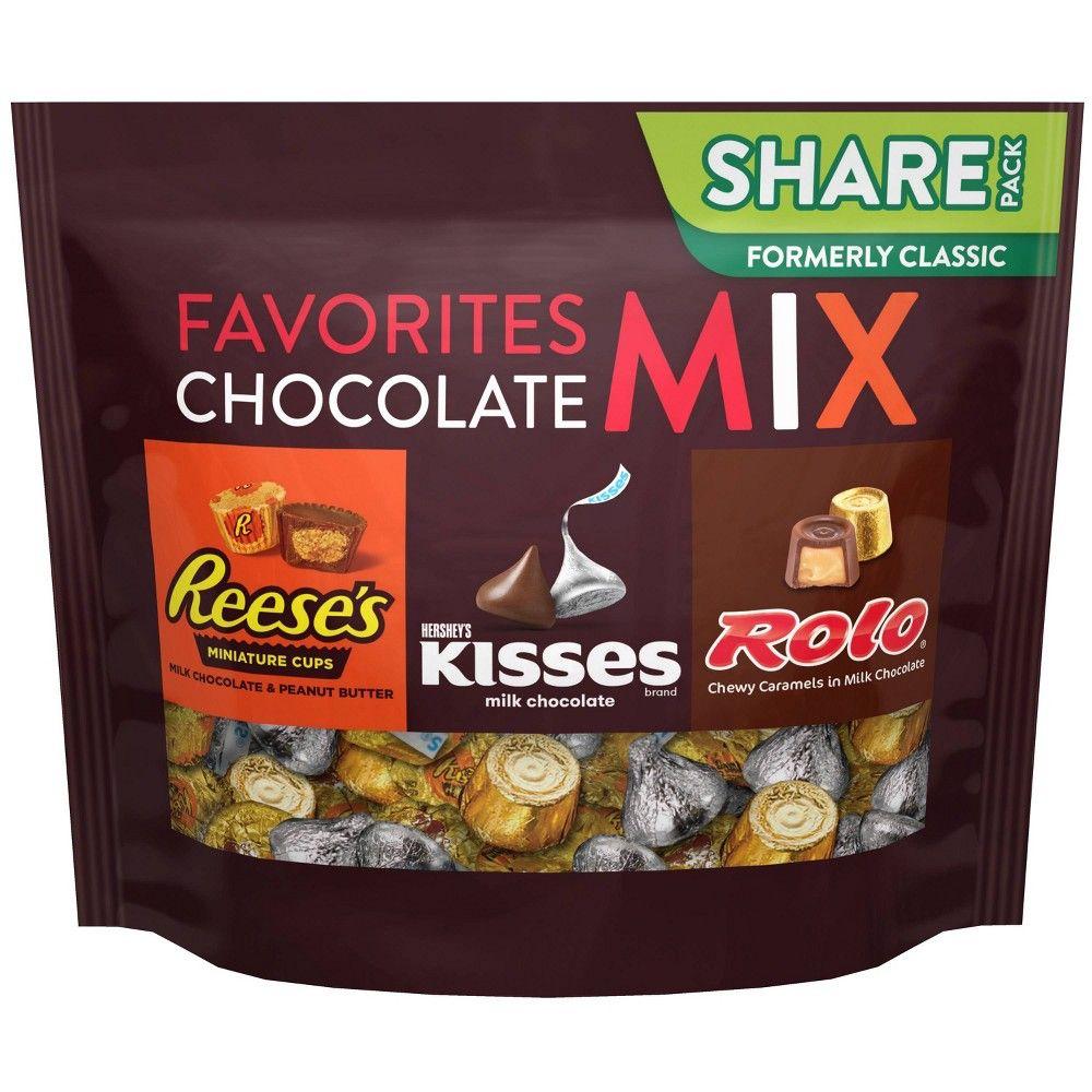 Hershey S Trio Assortment Chocolate Candy 10oz Chocolate Chocolate Assortment Hershey Chocolate