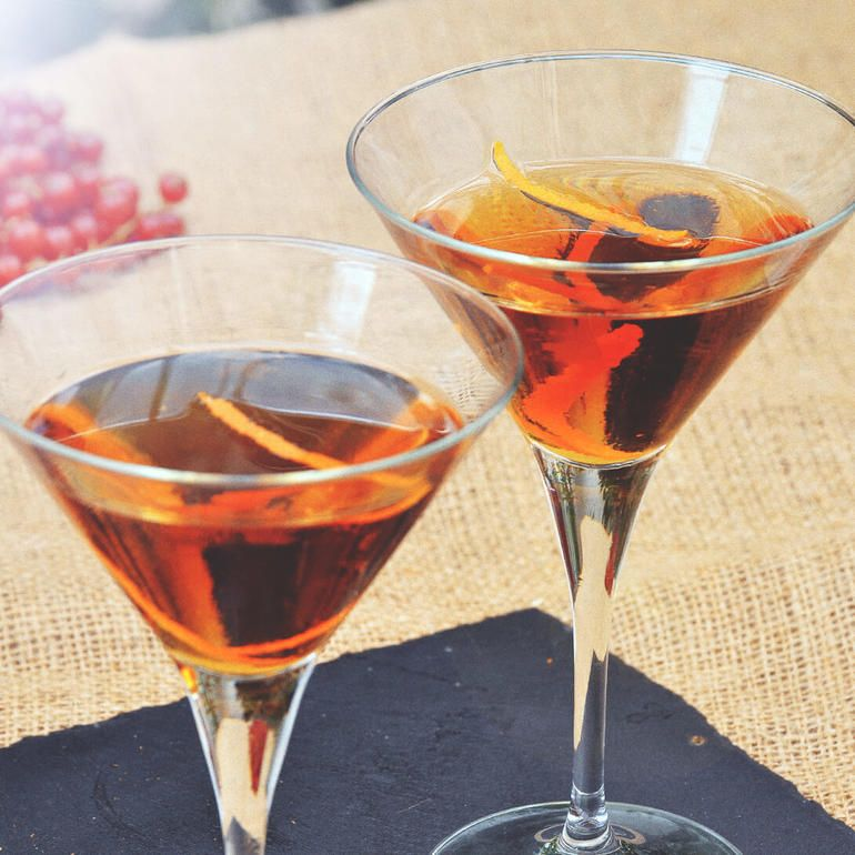 Bourbon Mixed Drinks
