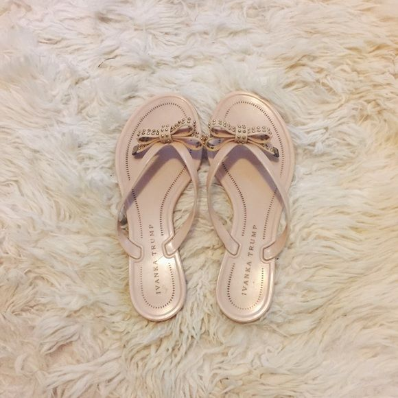 Ivanka Trump Sandals Great condition Authentic True to size Feel free to ask me any questions Thanks for browsing my closet! Happy Poshing Ivanka Trump Shoes Sandals