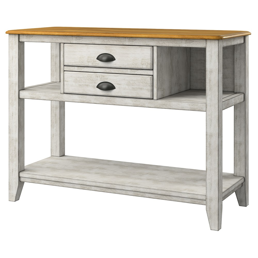 South Hill 2-Drawer Sideboard Buffet Antique White - Inspire Q