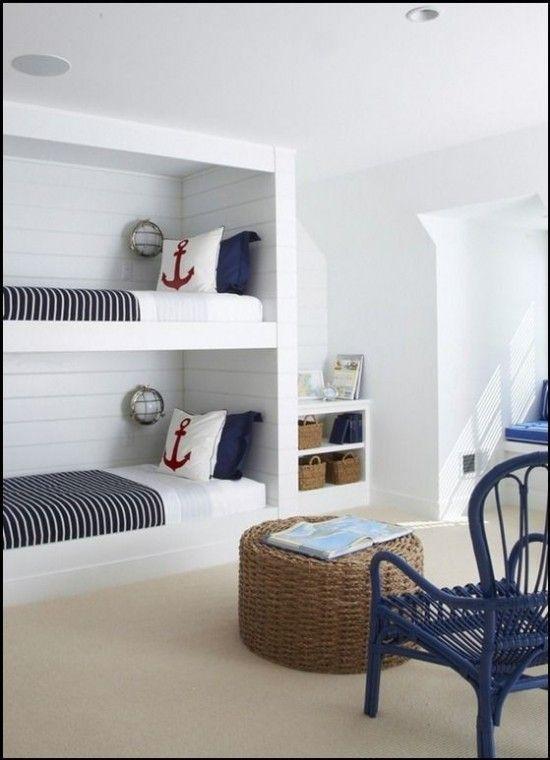 Camera da letto stile marina cameretta stilosa pinterest camera da letto dei ragazzi - Letto stile marina ...