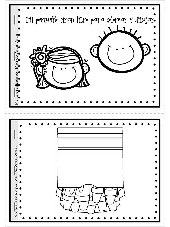 Mi pequeño gran libro para colorear y dibujar (1 | Pinterest ...
