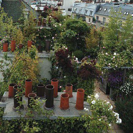 Jardins sur les toits de paris. paysagiste hugues peuvergne ...