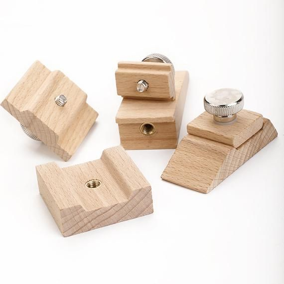 Wooden Mini Sanding Blocks For Leather Edge Finishing Process Sand Paper Fixing Blocks