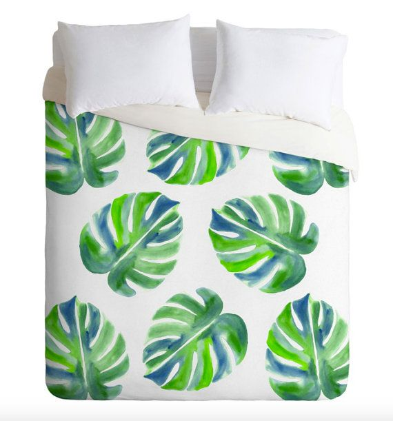 Going Green Duvet Cover - New Year, New You.