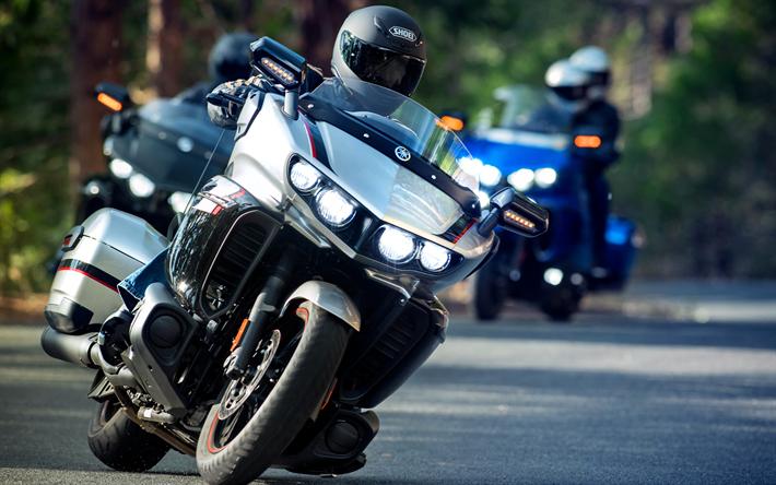Lataa kuva Yamaha-Tähti Vanhin, pyöräilijät, 2018 polkupyörää, touring-moottoripyörä, japanilaiset moottoripyörät, Yamaha