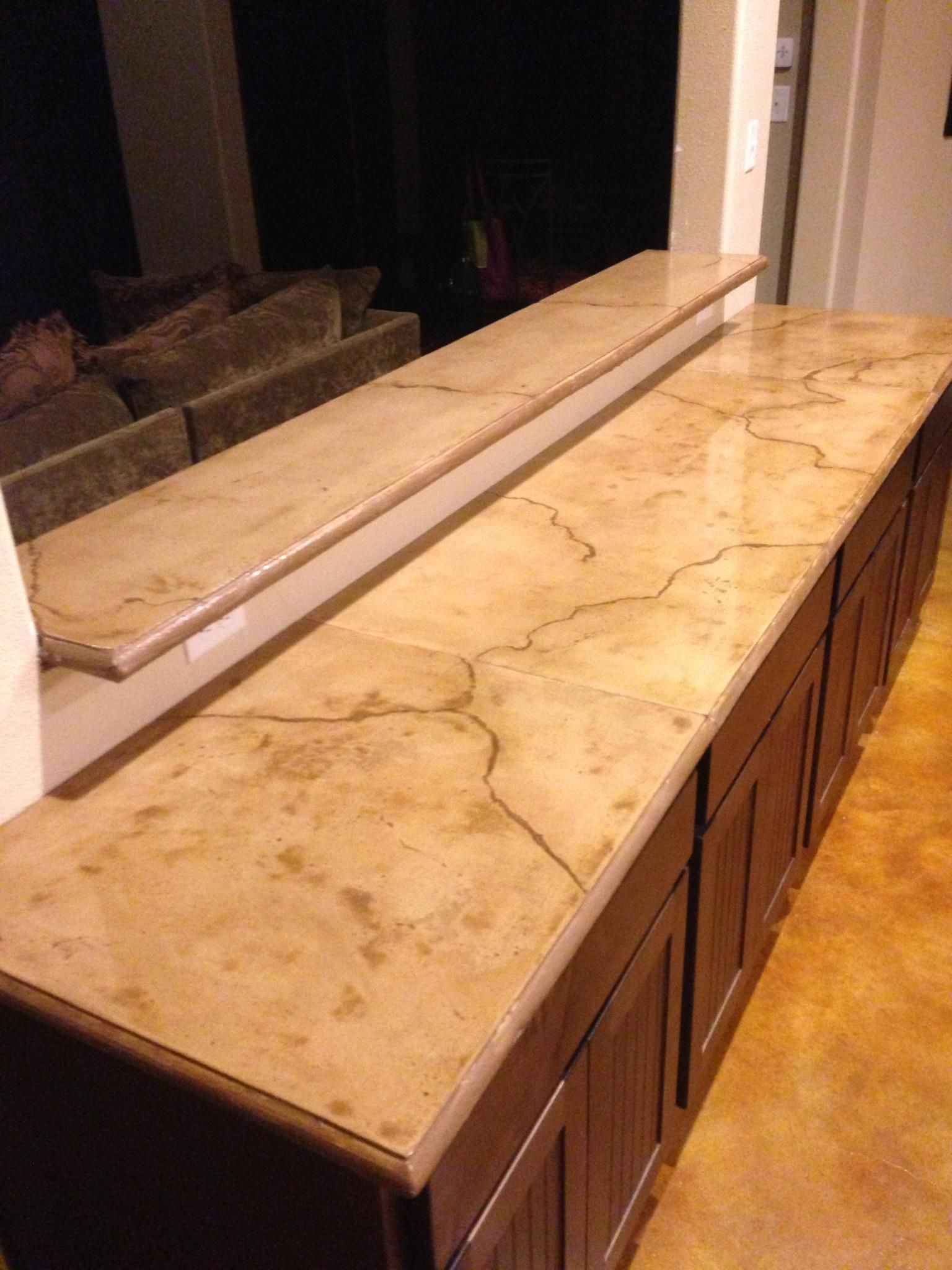 Long Time Concrete Installer Discovers Concrete Countertops Texas