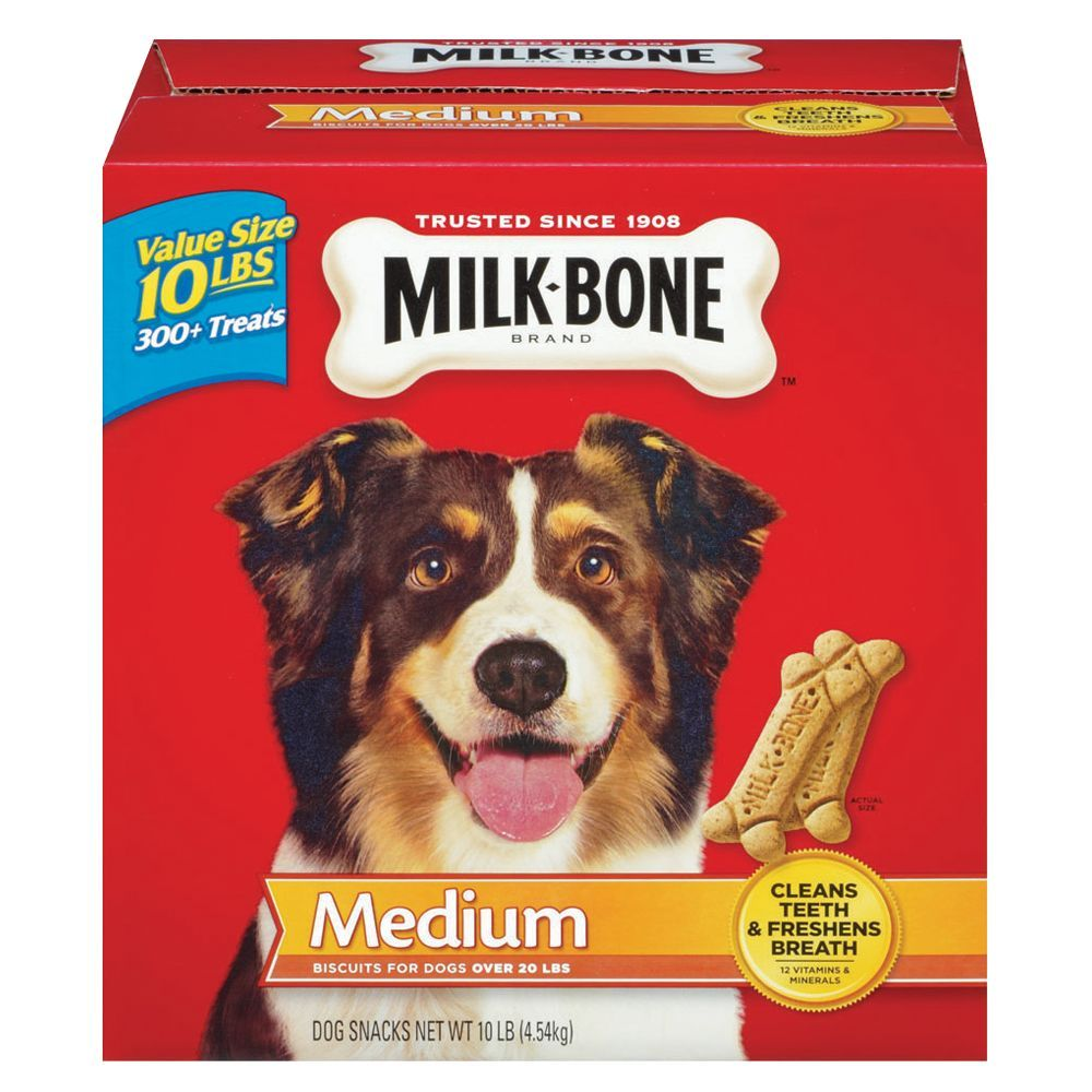 Milk Bone Original Dog Snacks Size Medium Ivory Biscuit Adult