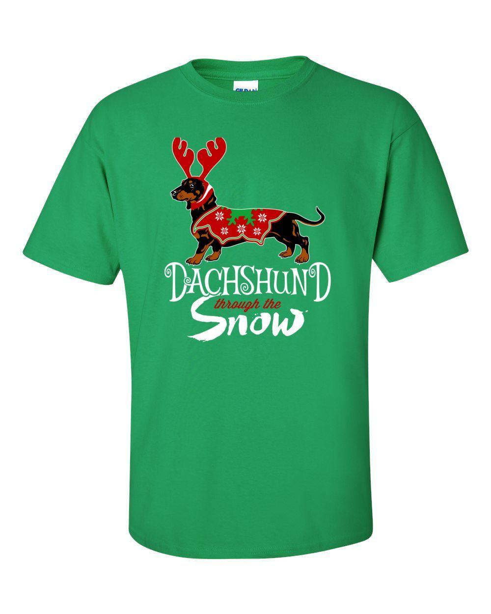 Dachshund Through The Snow Tee