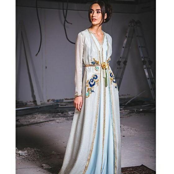 Nouvelle collection caftan 2018 : takchita et caftan Marocain haute couture  en vente sur mesure au