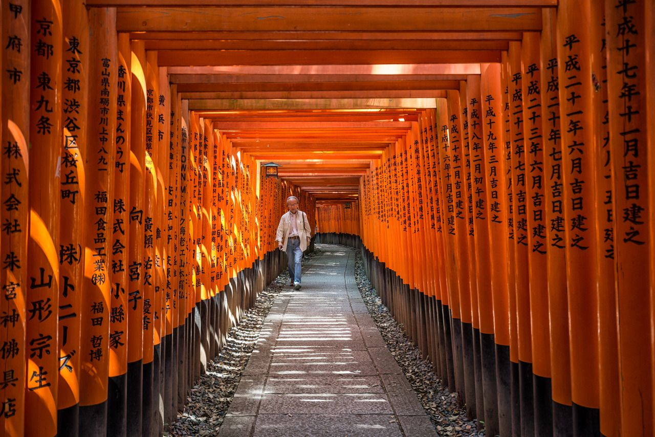 Silent Scenes From Our Dreams — Japan // Fushimi Inari by -Cabanaboy-