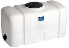 50 Gallon Plastic Water Tank Great For Transporting And Stationary Storage Water Tank Stationary Storage Gallon