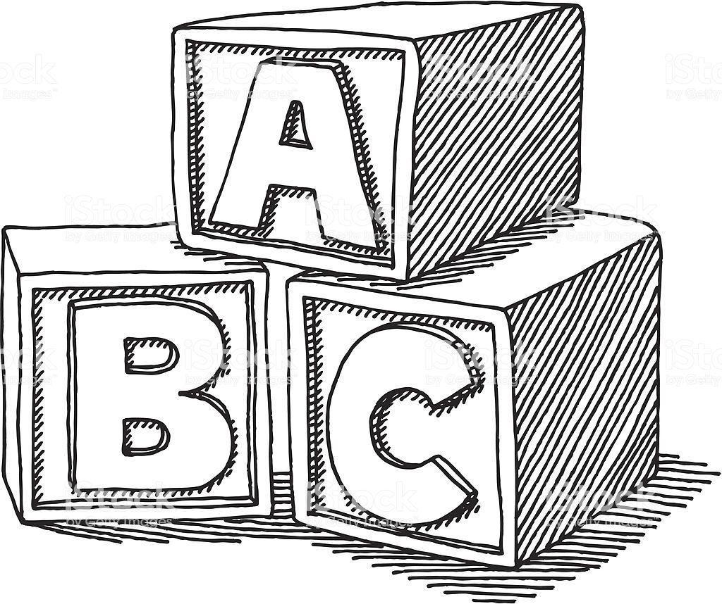 26++ Abc building blocks clipart ideas