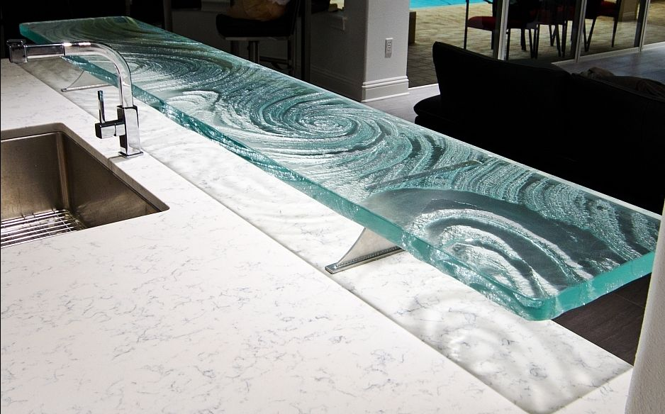 The Pros Cons Of Glass Countertops Glass Countertops Cheap Countertops Countertops