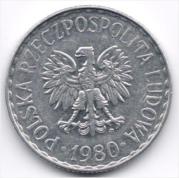 Poland 1 Zloty 1980 op eBid België
