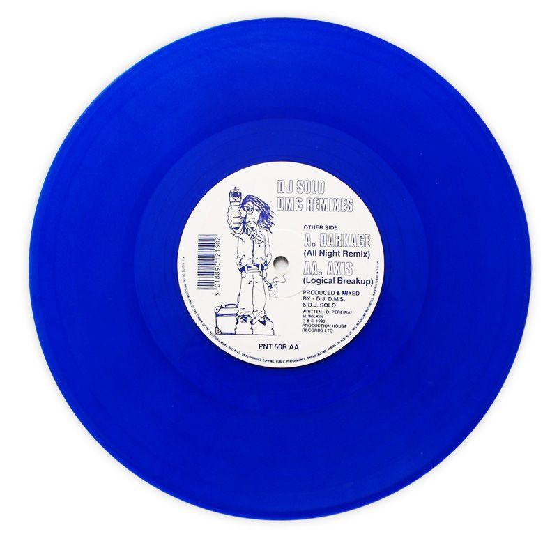Dj Solo Darkage Remix Blue Vinyl 10 Blue Vinyl Remix Dj
