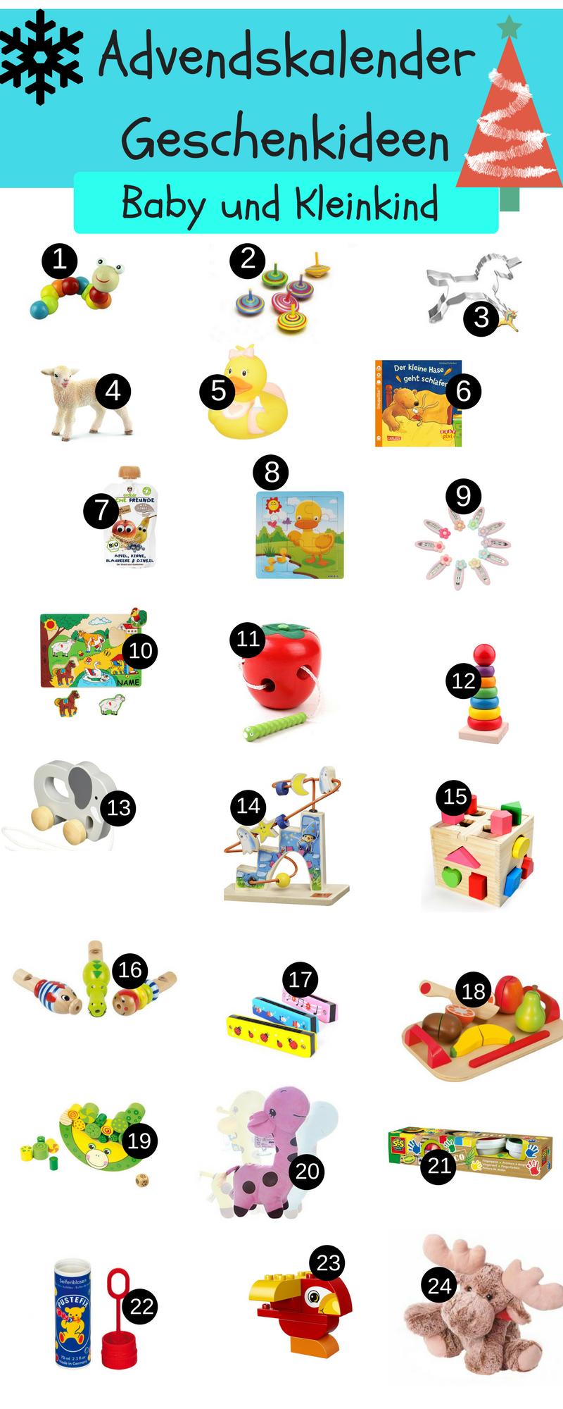 DIY Adventskalender für Babys und Kleinkinder selber machen