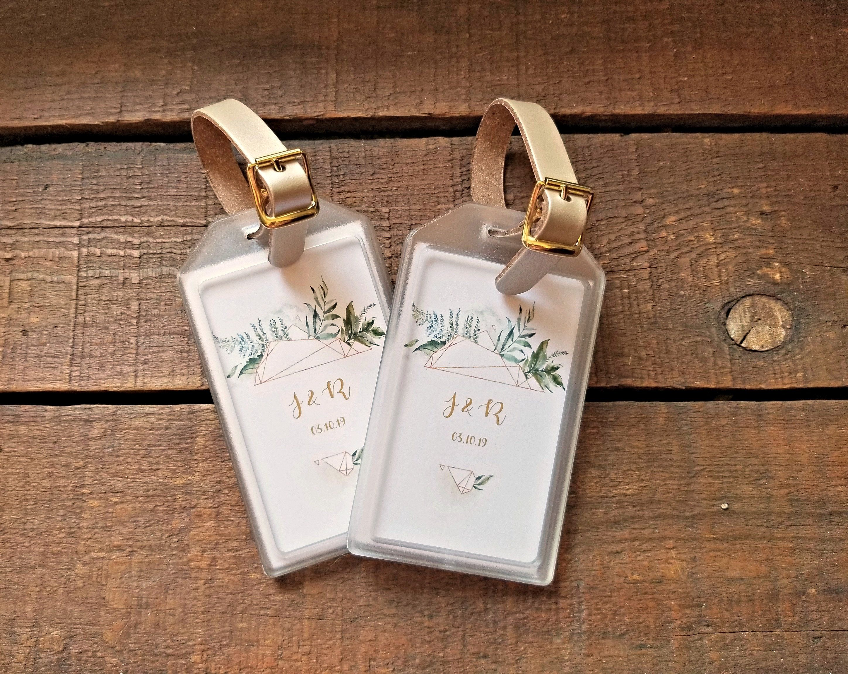 bridal shower luggage tag favors baby shower luggage tag favors destination wedding favors destination wedding welcome bags by mailmansdaughter on etsy