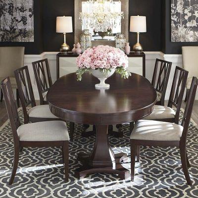 Bassett 4538 K4884 Presidio Oval Dining Table Available At