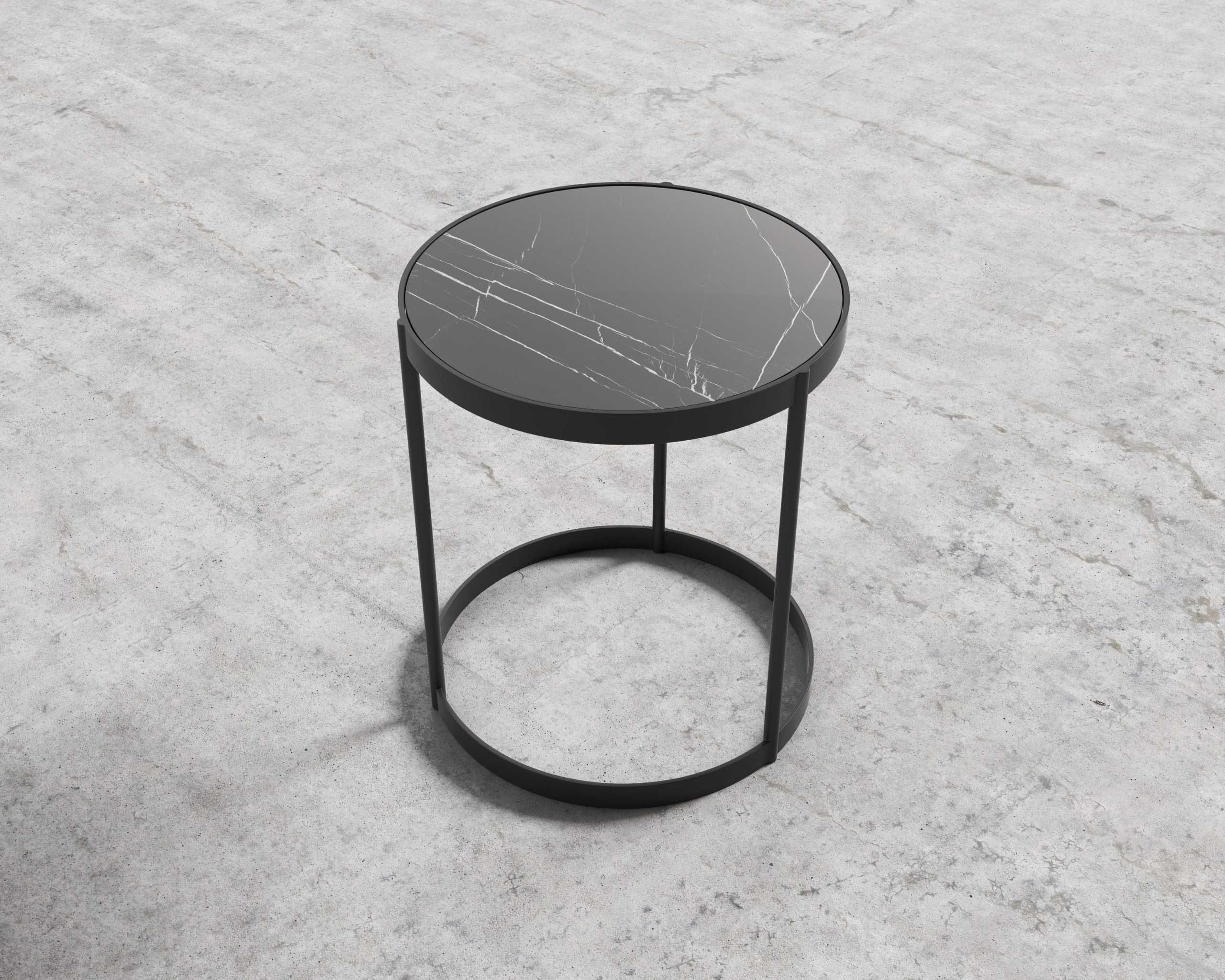 Malin Side Table Side Table Black Side Table Black Marble Side Tables