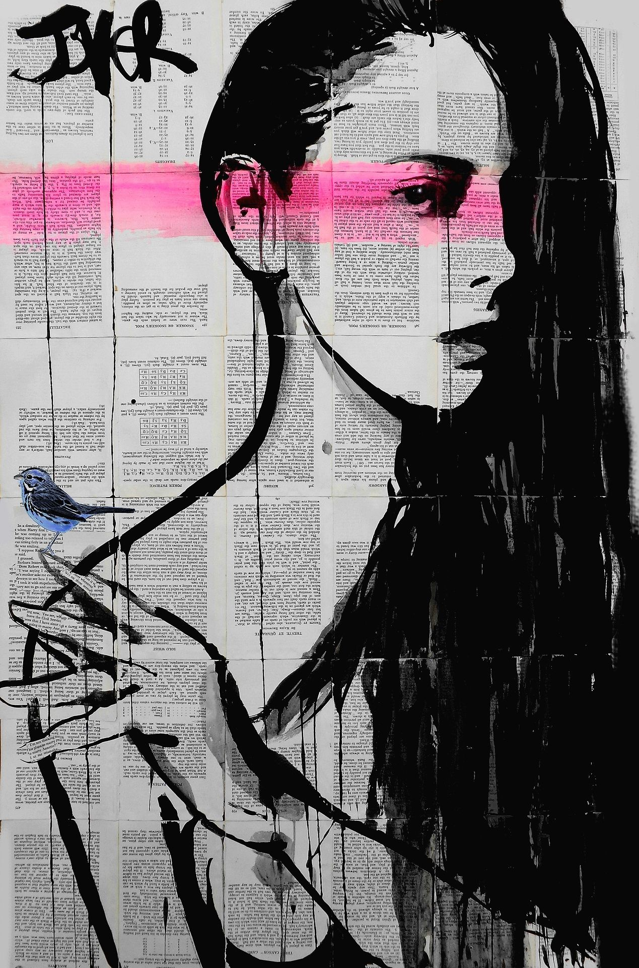 CALYCE…..Loui Jover  private collection USA