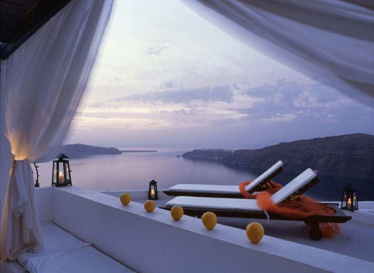 Rocabella Resort in Santorini, Greece