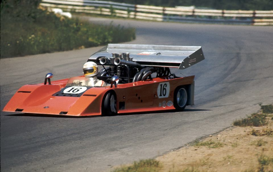 The 1970 Shadow Chevrolet MkI Can Am car like a kart with