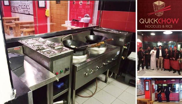 Quick Chow Project In Saudi Arabic Fast Foodkitchen Equipment Restaurant Equipment Catering Equipment Hotel Equipment In China