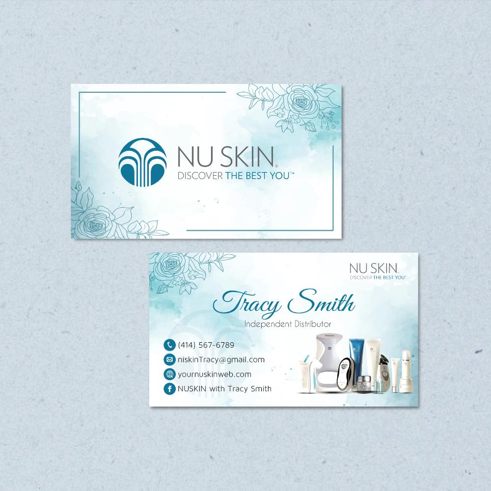 Pin Pa Nu Skin Business Cards