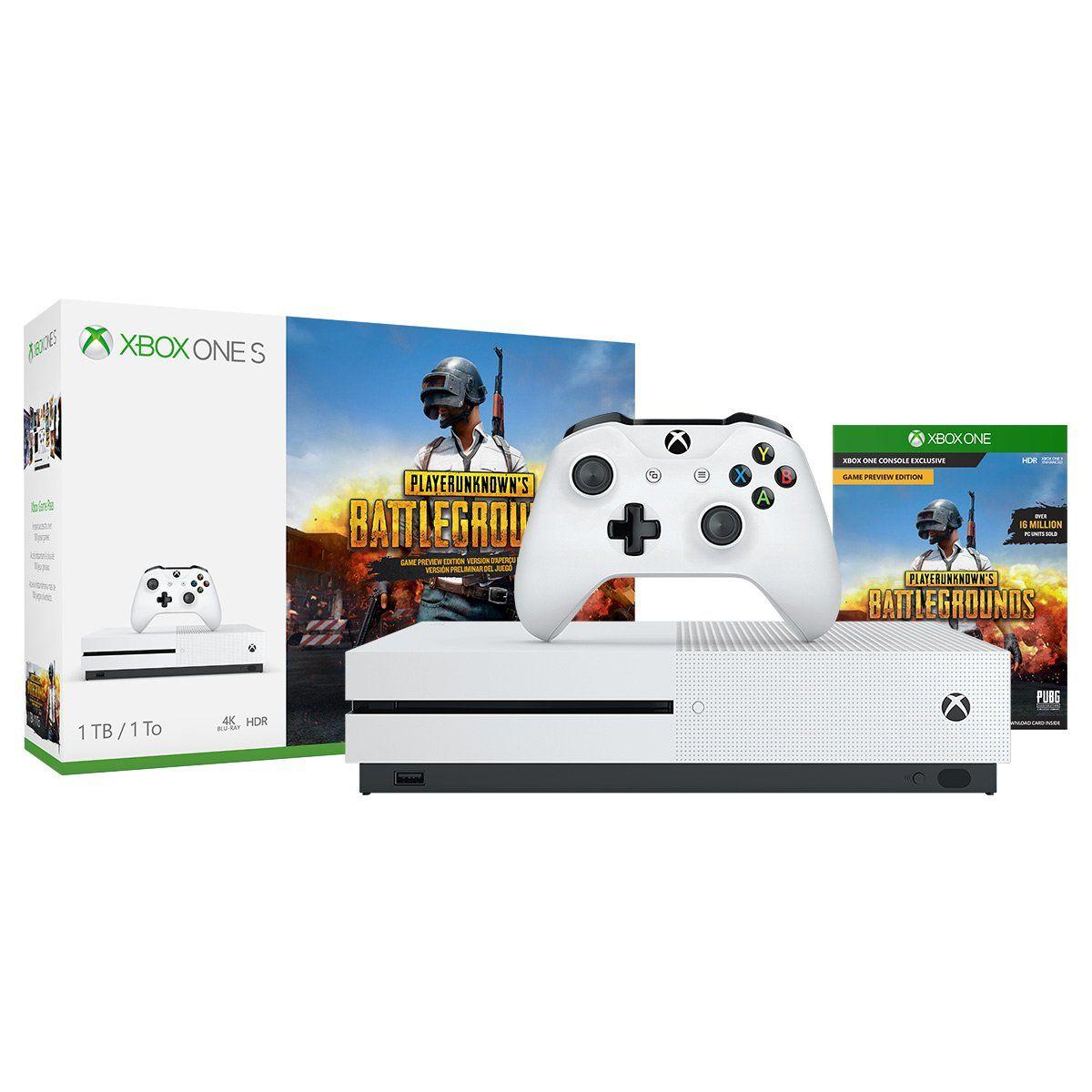 Xbox One S 1tb Console Playerunknown S Battlegrounds Bundle