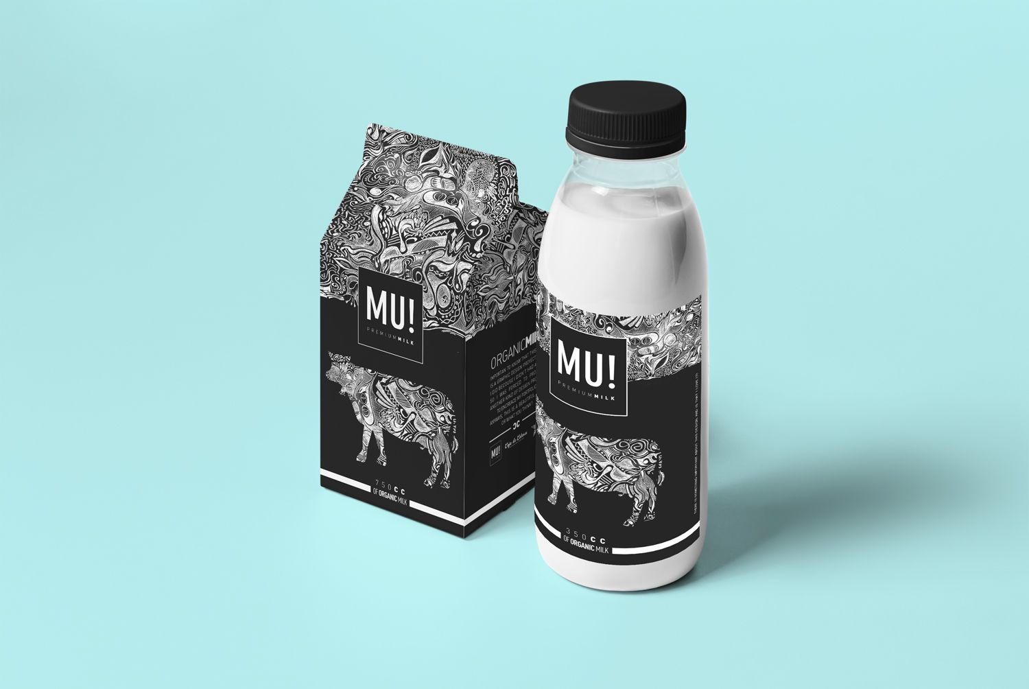 50 creative dairy product packaging design to boost your