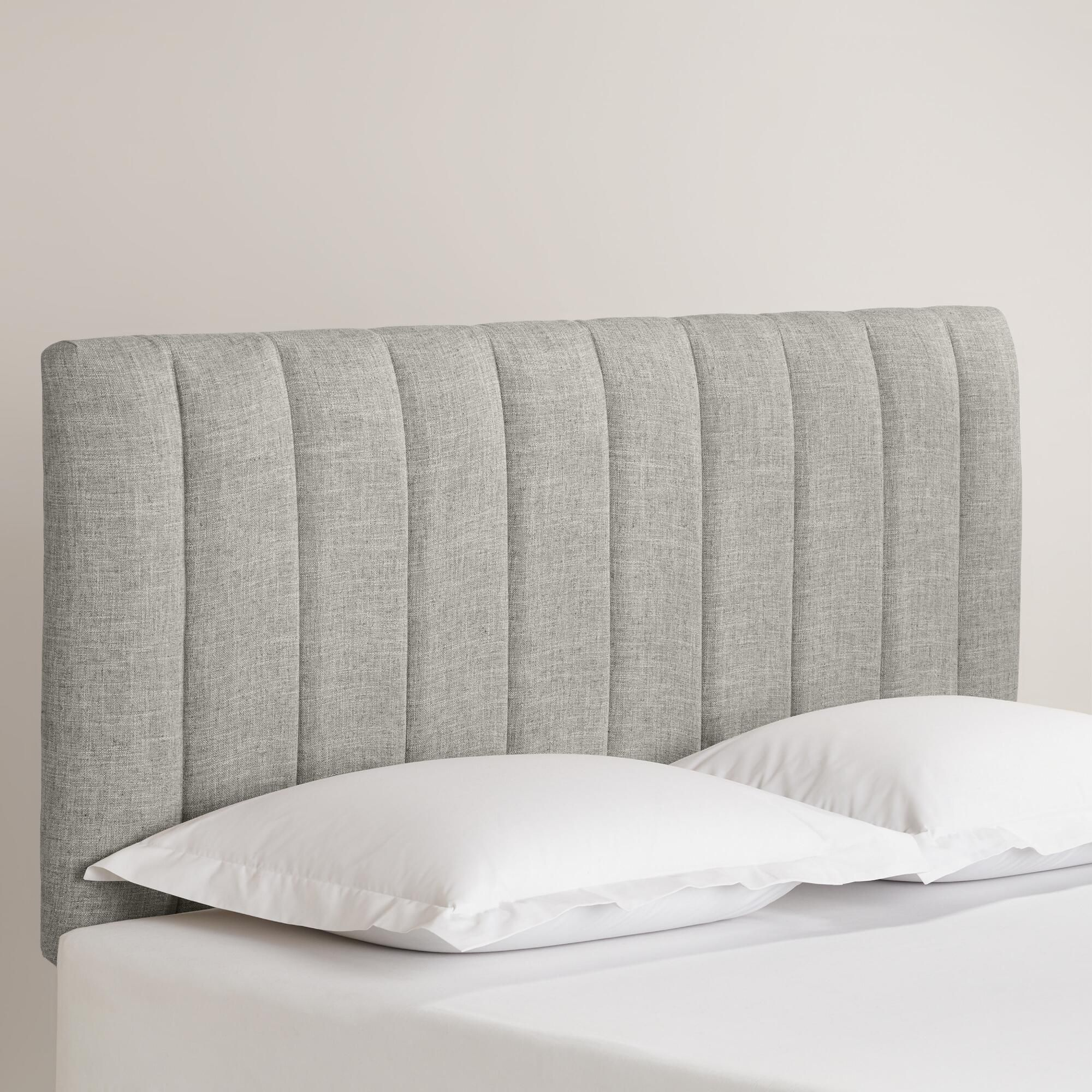 Custom Upholstered Headboards linen reilly upholstered headboard | cleanses, colors and the o'jays