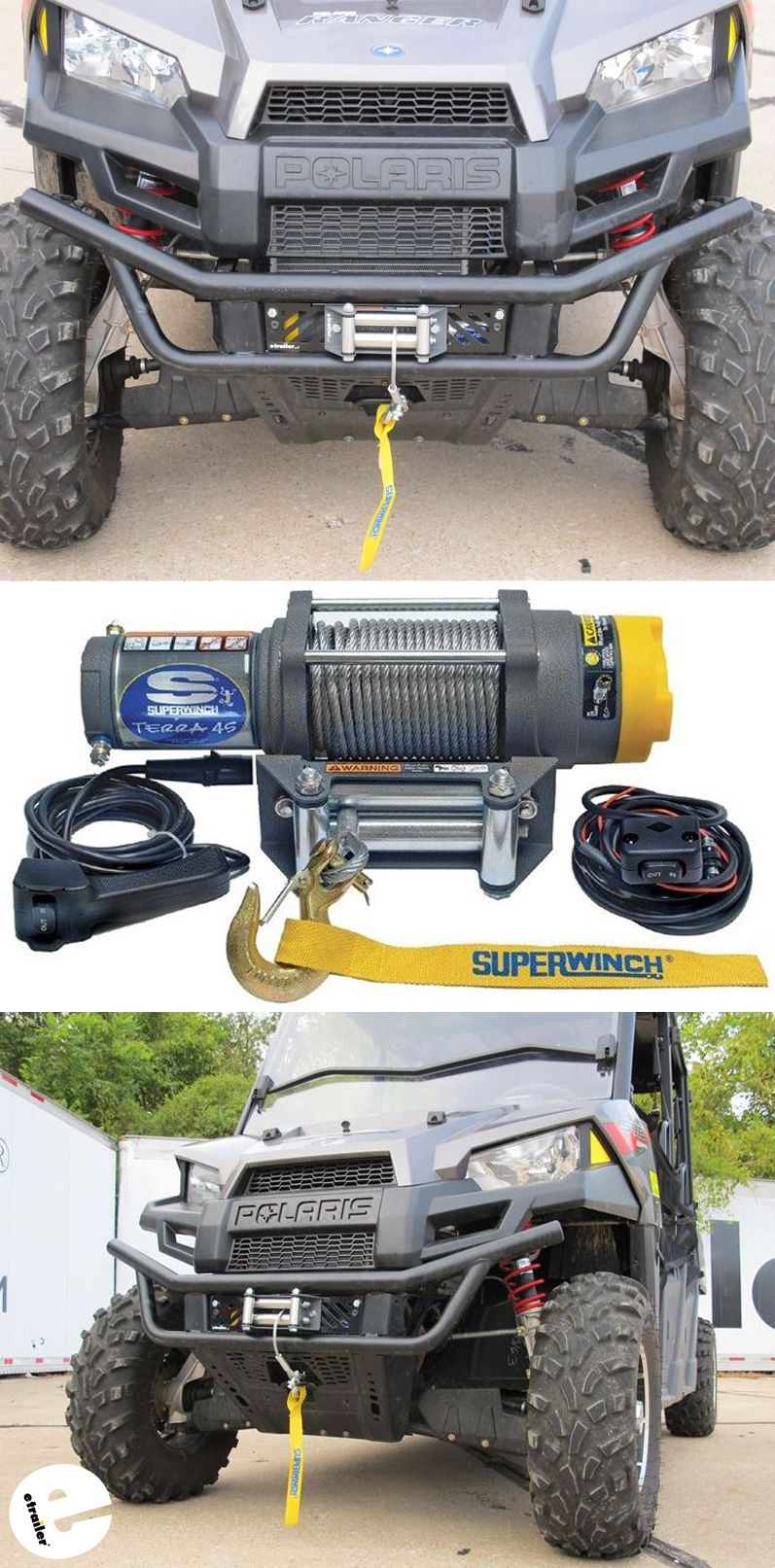 medium resolution of this high performance atv winch is designed for heavy duty recreation and work