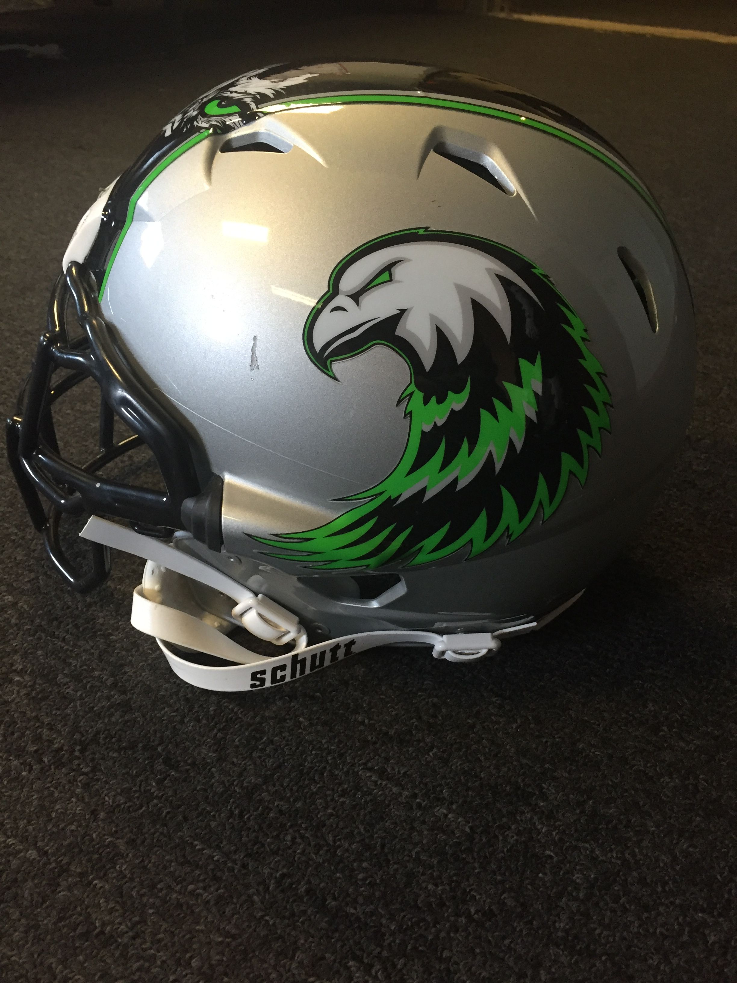 Another angle of that last post get your custom helmet