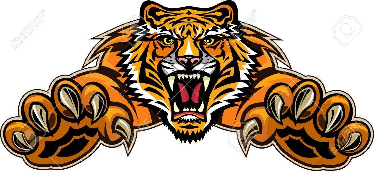 Stock Vector t shirts in 2019 Tiger illustration