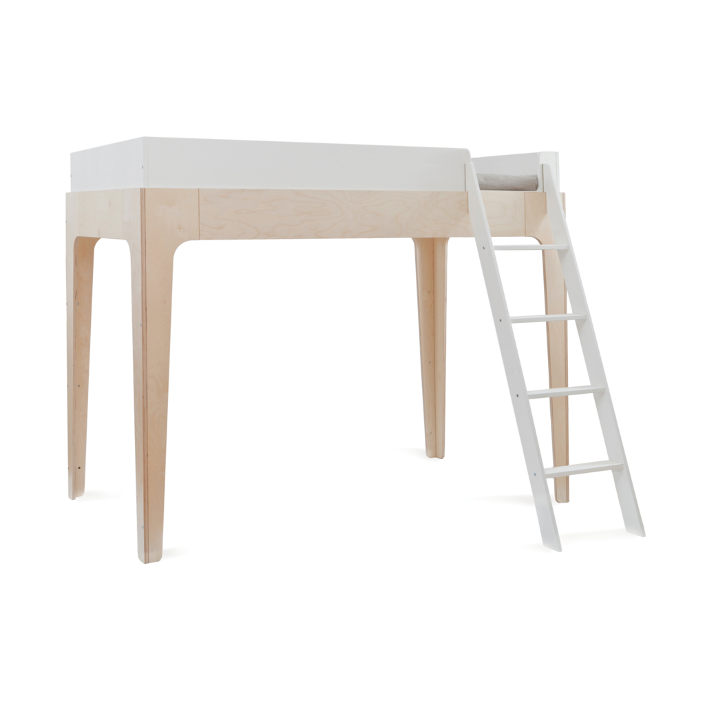 Ideas for space under loft bed  Stunning Perch loft bed and childrenus bunk bed by Oeuf NYC
