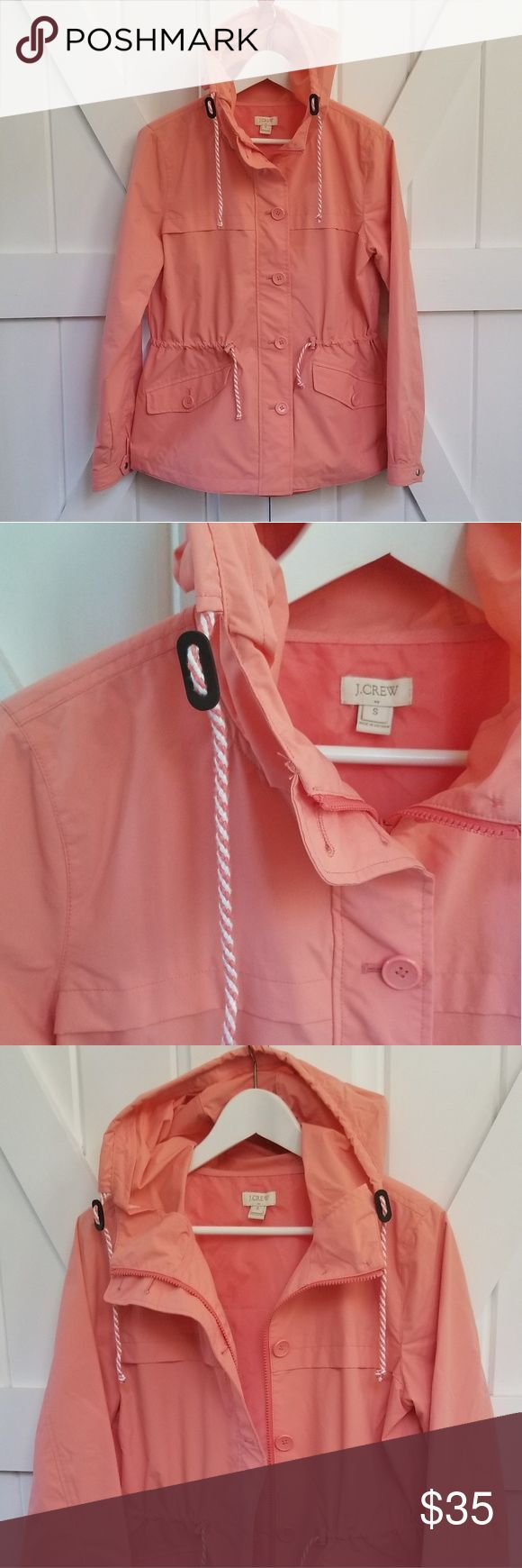 #condition #Crew #Day #Drawstring #excellent #hood #Jacket #Rainy #Rainy Day Outfit athletic #size #Small #Wais J. Crew Rainy Day Jacket Size Small Excellent Condition Drawstring hood and wais...        J. Crew Rainy Day Jacket Size Small Excellent Condition Drawstring hood and waist  Beautiful pink/salmon color J. Crew Jackets & Coats Utility Jackets #rainydayoutfitforwork