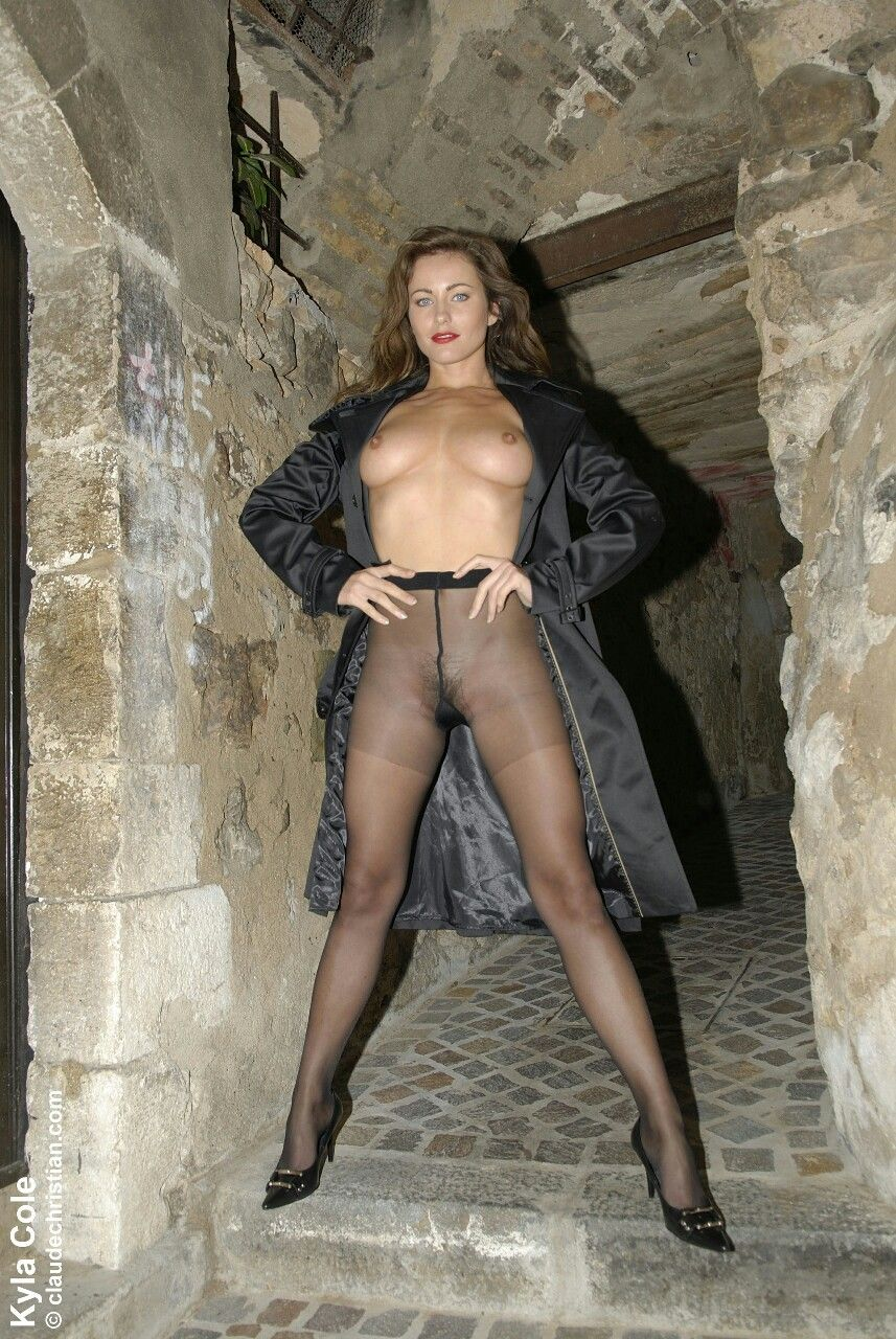 Nylon Wives Mature Pantyhose Galleries Black 66