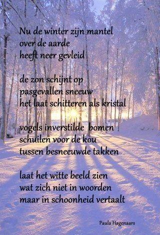 Citaten Over De Winter : Gedichten paula hagenaars citaten en poezie korte gedichten