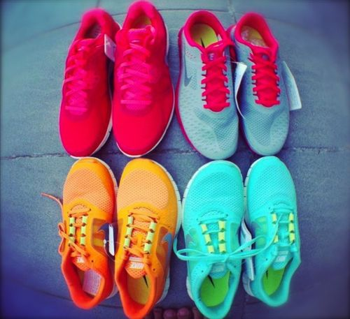 I love all these running shoes!!!