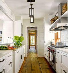 Farmhouse Galley Kitchens Google Search