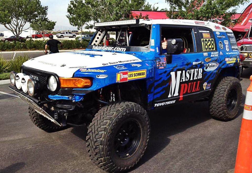 Offtrack Motorsports Fj Cruiser Asfir4x4 Vegas To Reno Toyota Fj Cruiser Fj Cruiser Cruisers