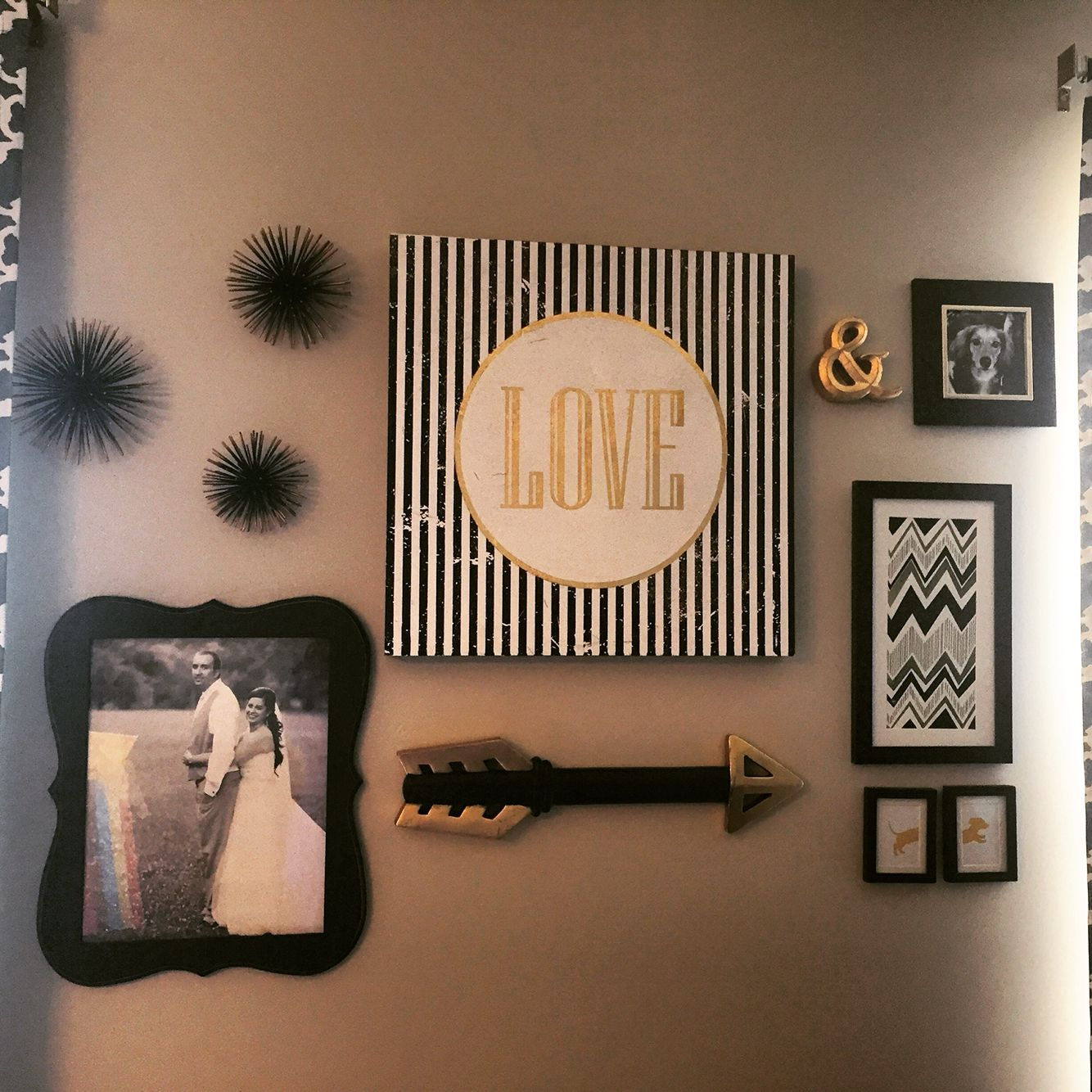 Target Home Decor Ideas Part - 30: Gallery Wall - Nearly Everything Is From Hobby Lobby Except The Sea Urchins  From Target!
