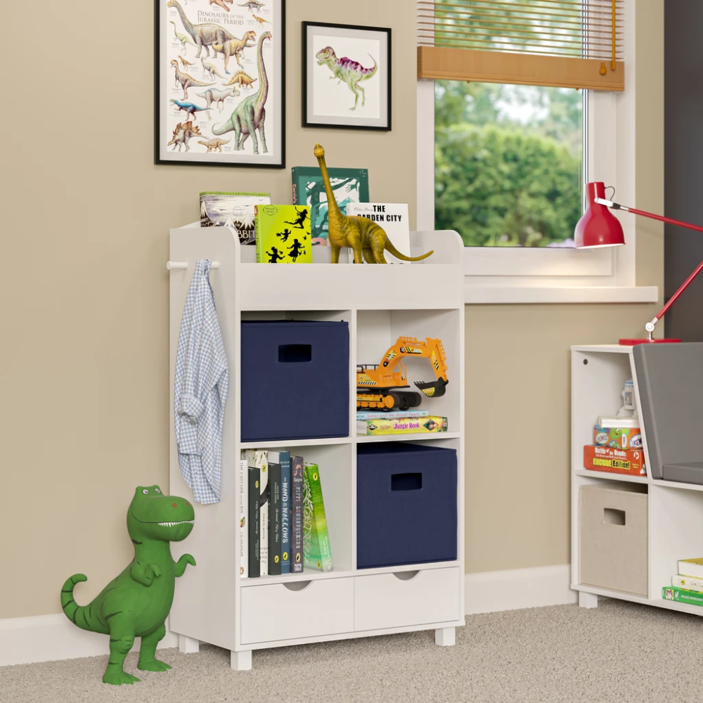 Book Nook Kids Cubby Storage Cabinet With Bookrack In 2020 Book Nook Kids Cubby Storage Kids Storage Furniture